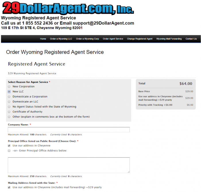 29dollaragent.com $64 a year pricing